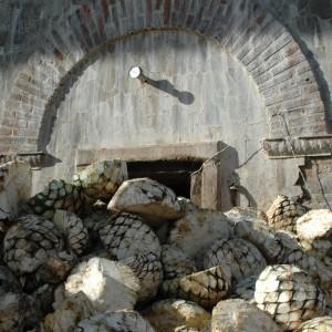 Horno tradicional de mampostería